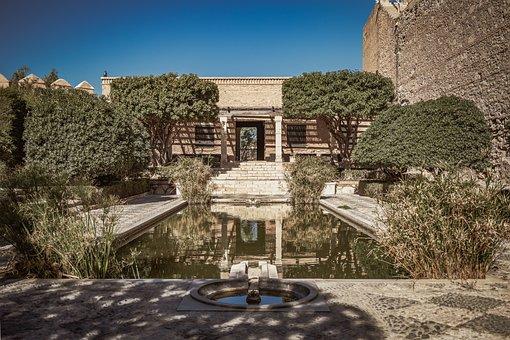 Alcazaba, Almeria, Spain, Andalusia, Fortress