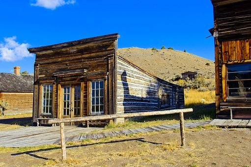 Assay Office Next To City Drug, Bannack, State, Park