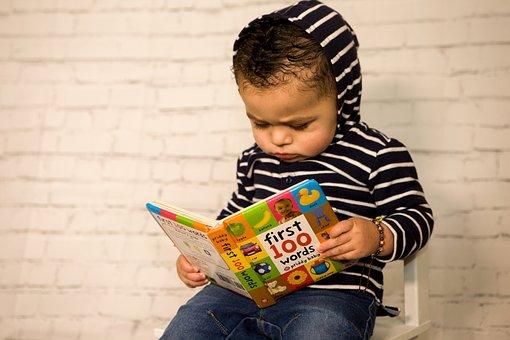 Toddler, Reading, Kids Fashion, Hooded Sweater