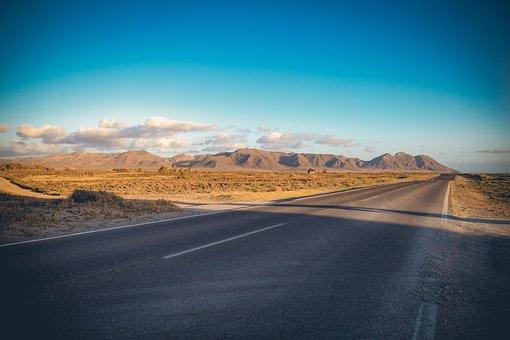 Road, Empty, Landscape, Highway, Asphalt, Travel