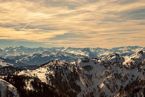 Mountains, Alpine, Panorama, Alpine Panorama, Snow