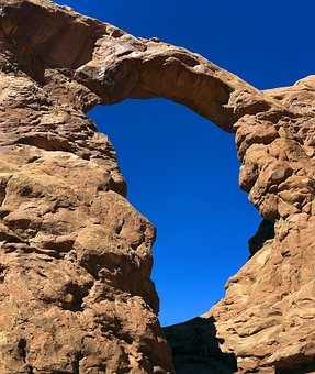 Turret, Sandstone, Arches National Park, Turret Arch