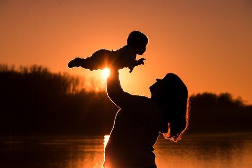 Human, Baby, Mother, Flyer, Bear, Keep, Reborn, Woman
