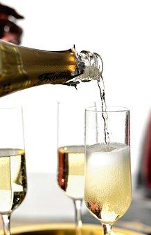 Champagne, Pour A, Champagne Pouring, Champagne Glasses