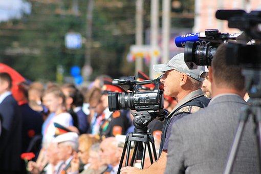 Reporter, News, Journalist, Bryansk, Tv, Channel, City