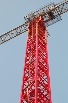 Building, Crane, Construction