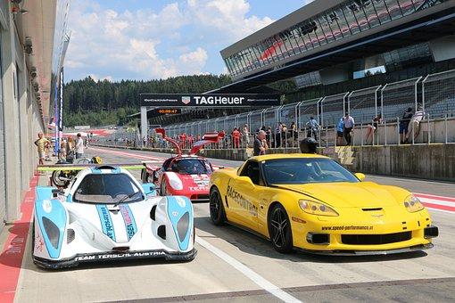 Racing Car, Motorsport, Corvette, Tork Nissan