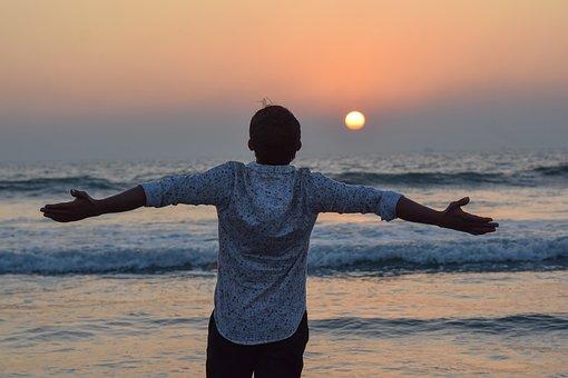 Sunset, Sea Beach, Cox's Bazar, Beach Sunset, Travel