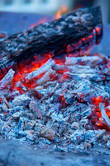 Fire, Ashes, Burning, Hot, Flame, Wood, Embers, Burnt