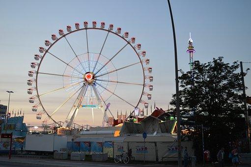 Hamburg, Fair, Folk Festival, Rides, Attraction