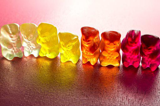 Gummibär, Sweetness, Delicious, Nibble, Sweet, Colorful