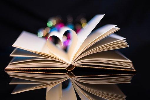 Book, Love, Heart, Read, Paper, Romantic, Romance