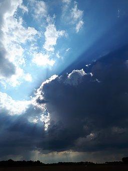 Clouds, Sky, Storm, Horizon, Weather, Landscape, Nature