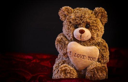 Teddy, Soft Toy, Love, Stuffed Animal, Cute, Teddy Bear