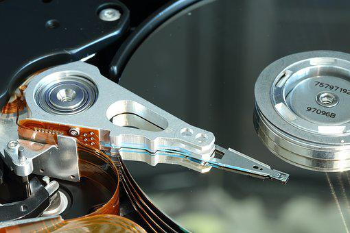 Harddisk, Disk, Drive Head Assembly, Head, Magnetic