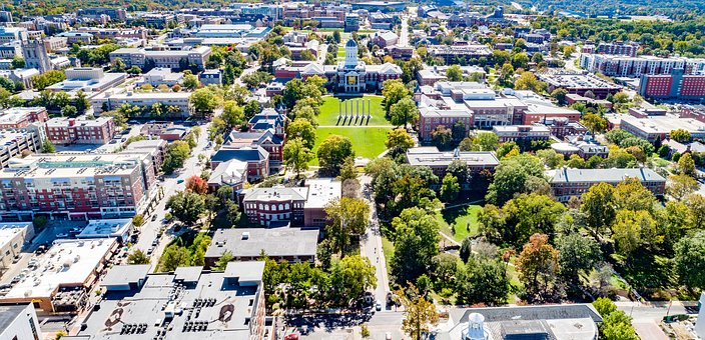Columbia, Missouri, Missouri University, Mizzou, City