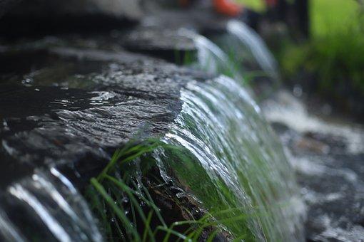 Water, Slope, Chorrillo, Mountain, Nature, Historically