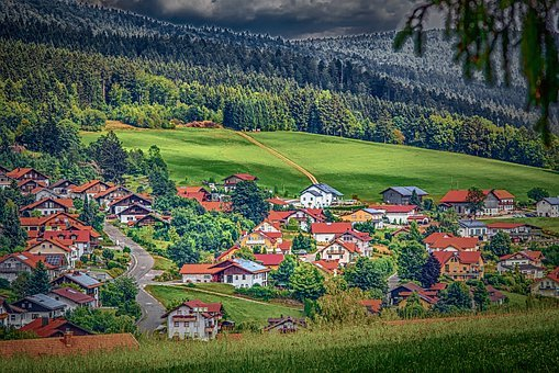 Landscape, Bavarian Forest, Sankt Englmar, Nature