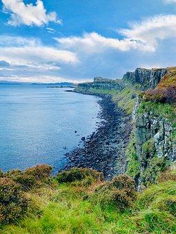 Scotland, Coast, Water, Landscape, Nature, Beach