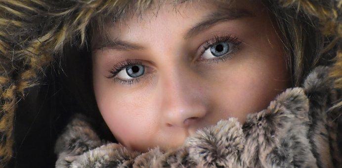 Woman, Winter, Beautiful, Pretty, Female, Cold, Model