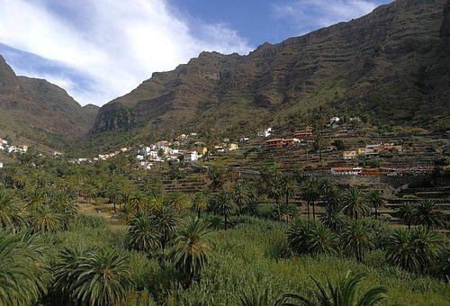 La Gomera, Valle Gran Rey, Canary Islands, Rocks
