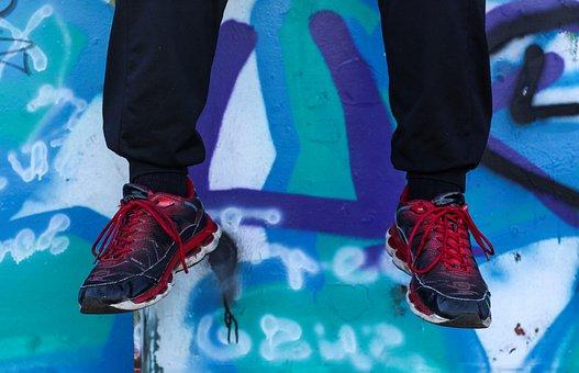 Shoes, Footwear, Sports Shoes, Sneaker, Sneakers, Feet