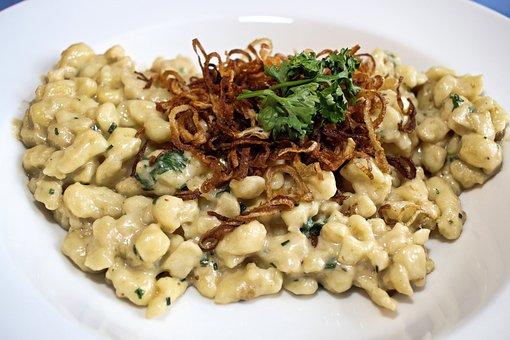 Spätzle, Cheese Noodles, Eat, Tasty, Food, Main Course