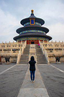Temple Of Heaven, Beijing, Architecture, Traditional