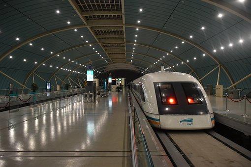 China, Transrapid, Train, Transport, Shanghai