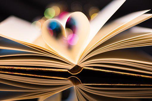 Book, Love, Heart, Read, Library, Valentine's Day