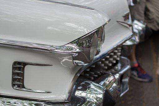 Spotlight, Automotive, Oldtimer, Vehicle, Classic, Old