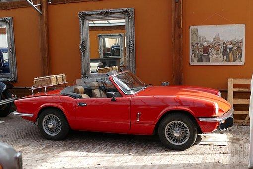 Sports Car, Oldtimer, Old, Vintage, Antique, Historical