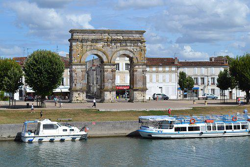 Arc, Peniche, Water, Channel, Landscape, Architecture