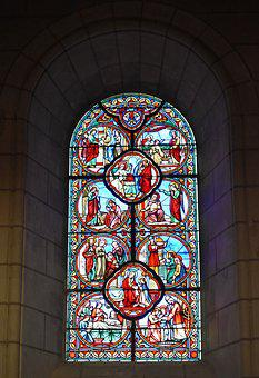 Stained Glass, Stained Glass Windows, Colored Glass