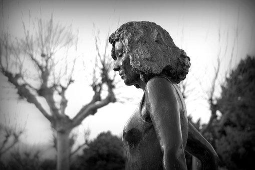 Statue, Women, Figure, Girl, Beautiful, Mystic