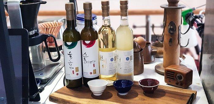 Wine, Korea, Traditional Distilled Liquor, Hard Liquor