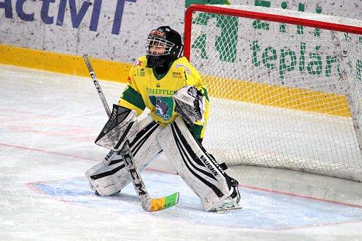 Goalkeeper, Hockey, Children, Young, Pupils