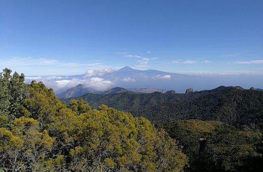 La Gomera Garajonay National Park, Top, Teide
