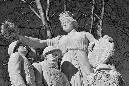 Monument, Stone Monuments, Statue, Photos Black White