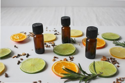 Natural Cosmetics, Fragrance, Lemon, Orange, Lime