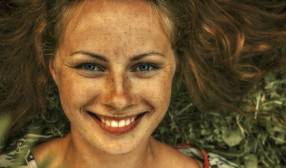 Smile, Freckles, Woman, Friendly, Person, Happy, Face
