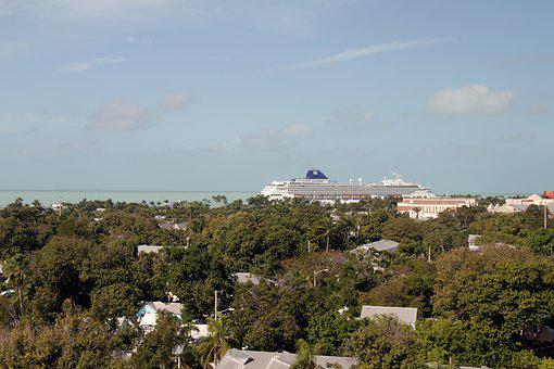 Key West, Cruise, Ship, Port, Transportation, Vessel