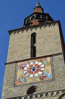 The Church Negra, Brasov, Romania, Architecture, Old