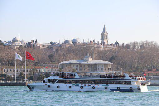 Marine, Boat, V, Topkapi Palace, The Tower Of Justice