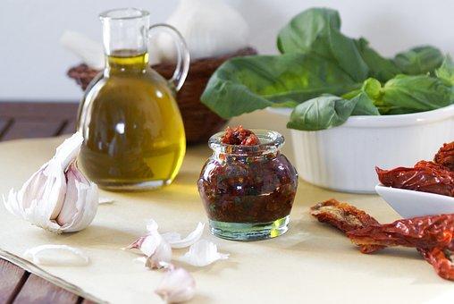 Mediterranean Cuisine, Tomatoes, Kitchen, Food