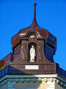 Tower, Building Statue, Architecture, Facade