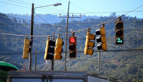 Traffic, Traffic Lights, Road, Red, Signal, Green