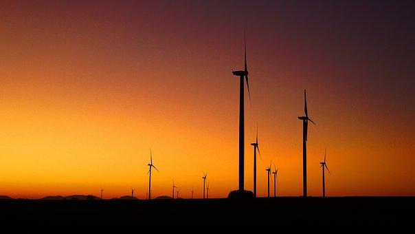 Windräder, Energy Revolution, Wind Power, Wind Energy