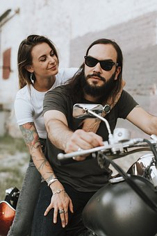 Affection, Alternative, American, Beard, Bearded, Bike