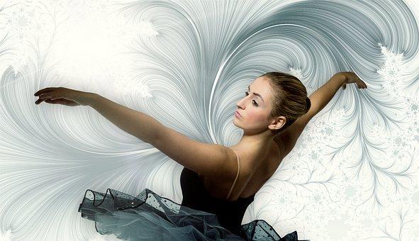 Dance, Dancer, Ballet, Ballerina, Slightly, Ease